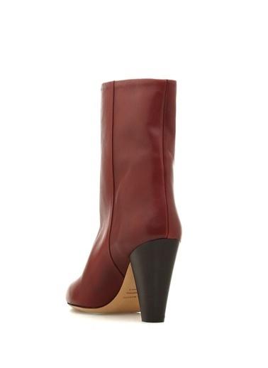 Topuklu Kısa Deri Çizme-Etoile İsabel Marant
